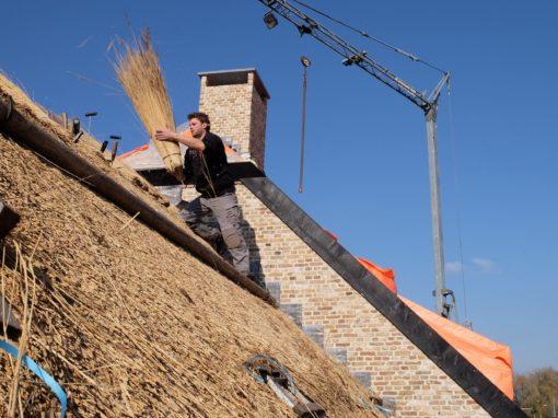 Rieten dak Prinsenbeek