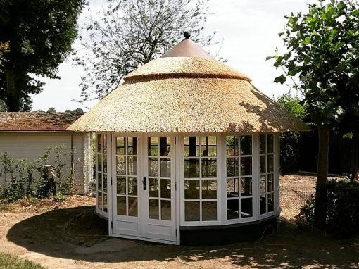 Rieten dak Moerdijk